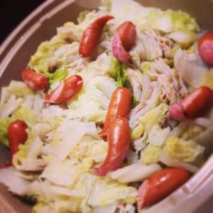 豚と白菜の重ね鍋